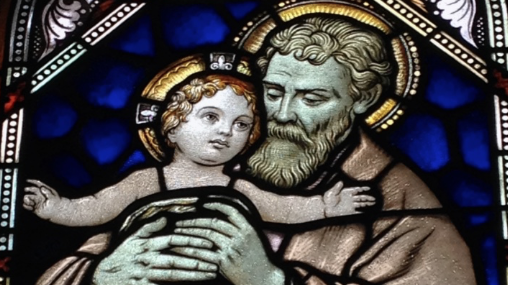 Among Women 220: St Joseph, the Angels, and Kate Wicker